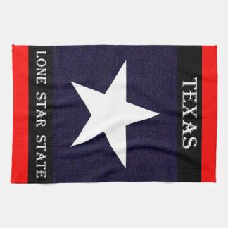 Texas Lone Star Kitchen Towel