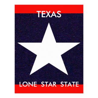 Texas Lone Star Letterhead