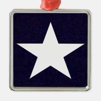 Texas Lone Star Metal Ornament
