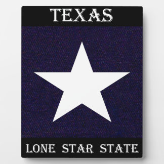 Texas Lone Star Plaque
