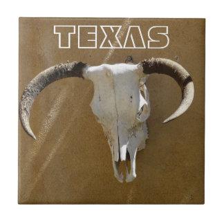 TEXAS-Longhorn Cow Skulls Tiles