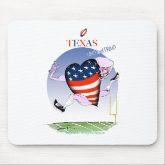 texas loud and proud, tony fernandes mouse pad