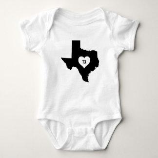 Texas Love Baby Bodysuit