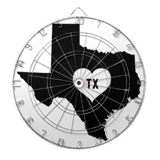 Texas Love Dartboard