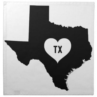 Texas Love Napkin