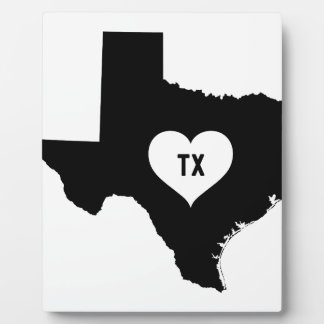 Texas Love Plaque