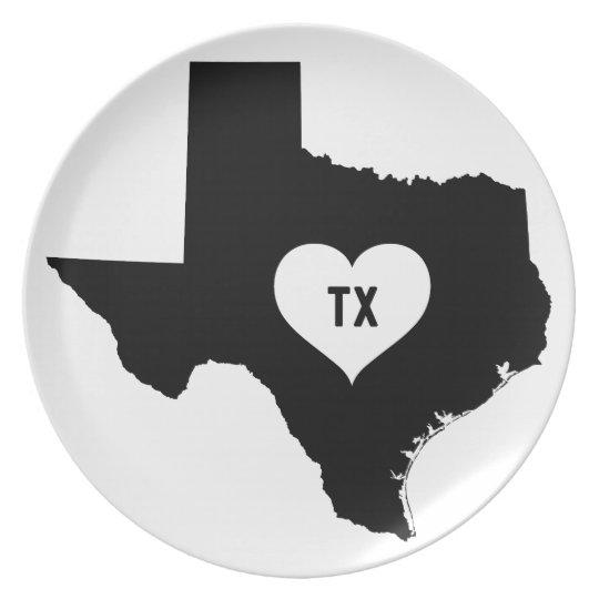 Texas Love Plate