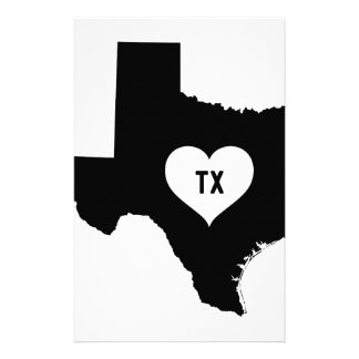 Texas Love Stationery
