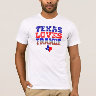 Texas Loves France T-Shirt