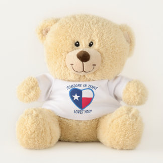 Texas Loves You Teddy Bear