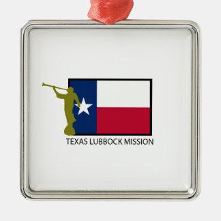 TEXAS LUBBOCK MISSION LDS CTR METAL ORNAMENT