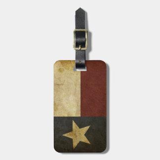 Texas Luggage Tag