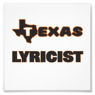 Texas Lyricist Photograph