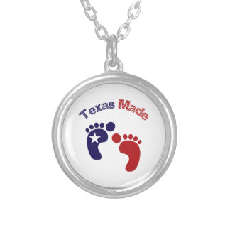 Texas Made Silver Plated Necklace
