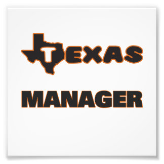 Texas Manager Photograph