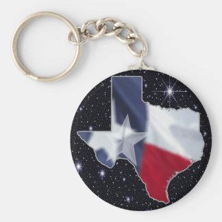 Texas Map Keychain