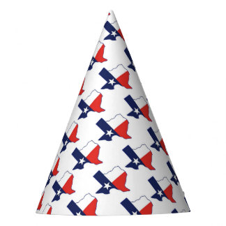 TEXAS MAP PARTY HAT