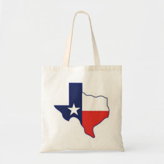 TEXAS MAP TOTE BAG