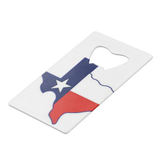 TEXAS MAP WALLET BOTTLE OPENER