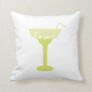 Texas margarita pillow | fun Texas decor