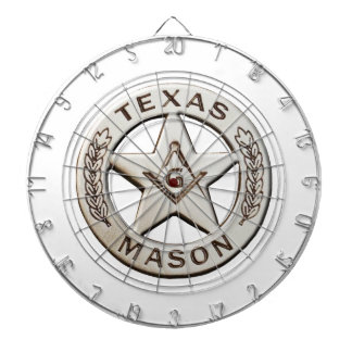 Texas Mason Dartboard