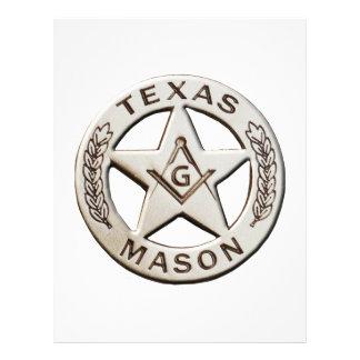 Texas Mason Letterhead