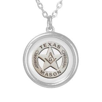 Texas Mason Silver Plated Necklace