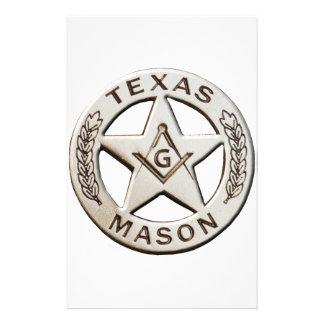 Texas Mason Stationery