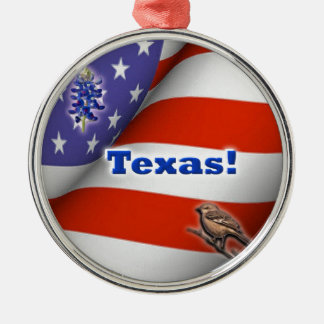 Texas Metal Ornament