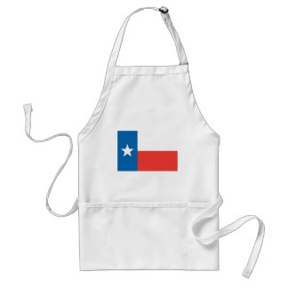 Texas Official State Flag Standard Apron