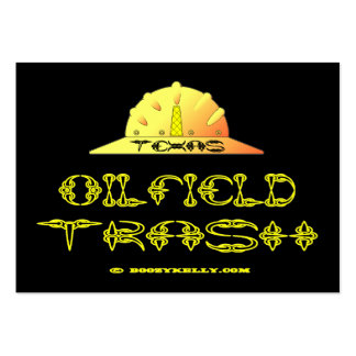 Texas Oil Field Trash,Business Cards,Oil,Gas