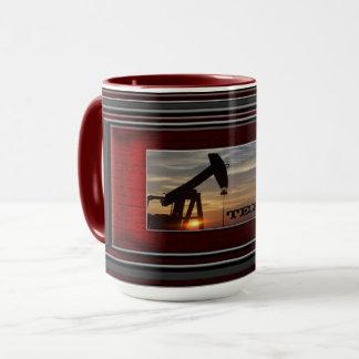 Texas oil mug