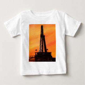 Texas Oil Rig Baby T-Shirt