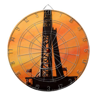 Texas Oil Rig Dartboard