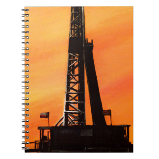 Texas Oil Rig Notebook