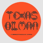 Texas Oilman,Oil Field Sticker,Oil Rigs,Derricks