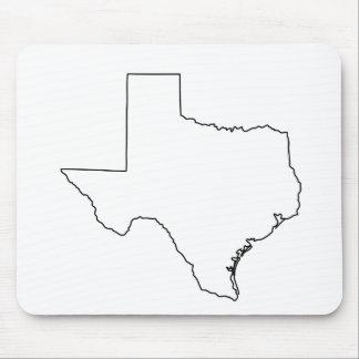 Texas Outline MousePad