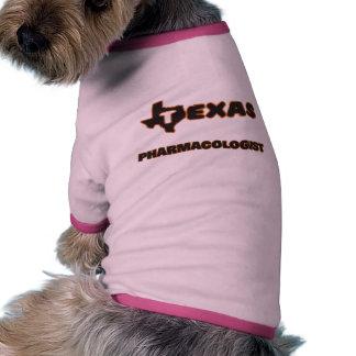Texas Pharmacologist Doggie Tee Shirt