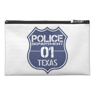 Texas Police Department Shield 01 Travel Accessory Bags