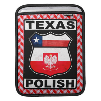 Texas Polish American iPad Case