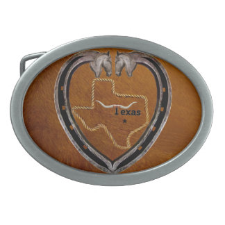 TEXAS PRIDE BELT BUCKLE