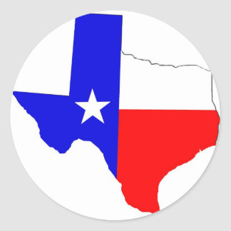 Texas Pride Classic Round Sticker