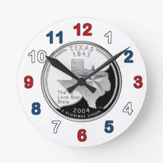 Texas Quarter Clock