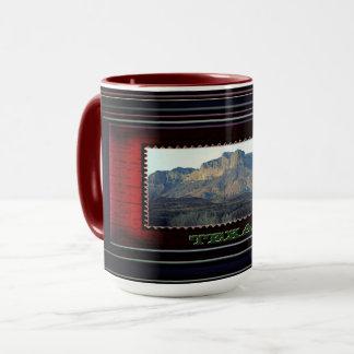 Texas red mug