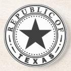 Texas (Republic of Texas Seal) Coaster