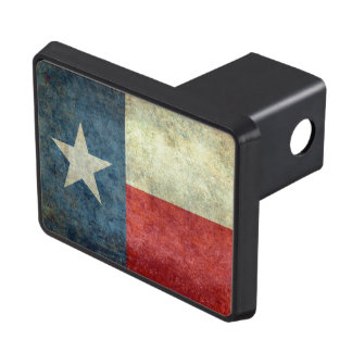 Texas - Retro Trailer Hitch Cover