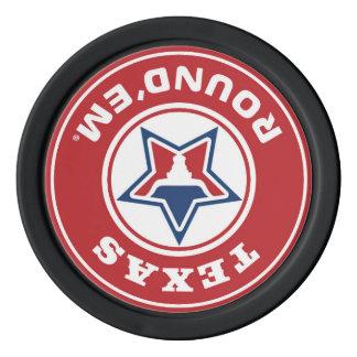 Texas Round'em® Up Chip Poker Chip Set