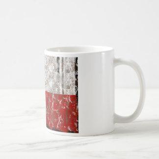 Texas Rusted Lone Star State Flag Coffee Mug