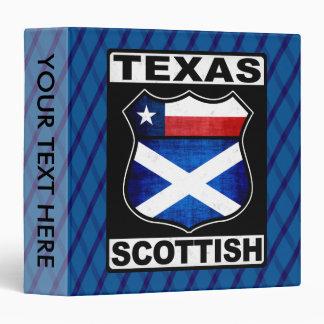 Texas Scottish American Ring Binder