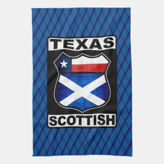 Texas Scottish American Tea Towels